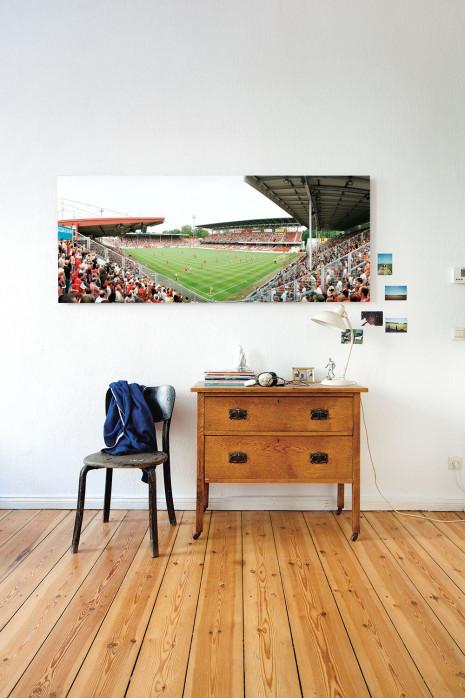 Stadion der Freundschaft in deinen vier Wänden - 11FREUNDE BILDERWELT
