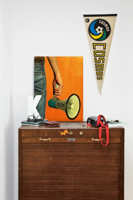 Illustration Fan mit Megaphon über deiner Kommode - 11FREUNDE BILDERWELT
