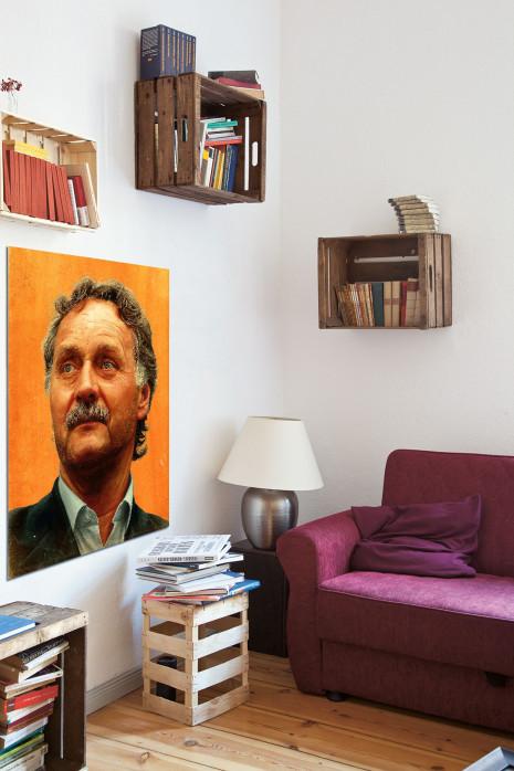 Illustration Peter Neururer in deinem Wohnzimmer - 11FREUNDE BILDERWELT