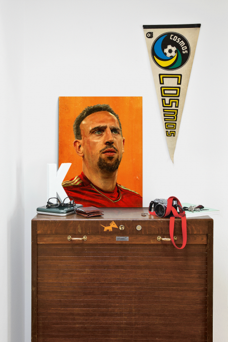 Illustration Franck Ribéry auf deiner Kommode - 11FREUNDE BILDERWELT