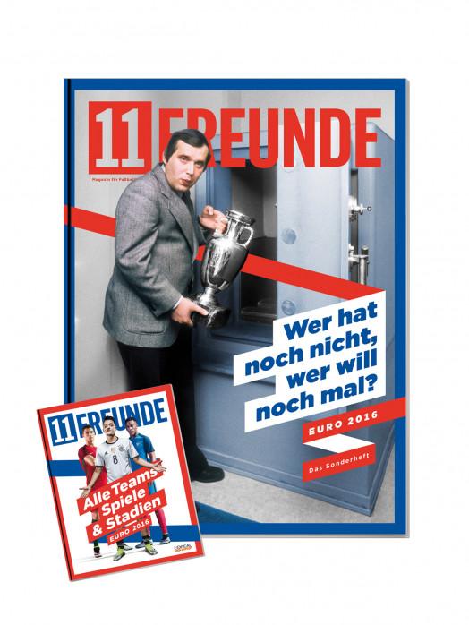 11FREUNDE Ausgabe #175 (EM-Sonderheft) - 11FREUNDE SHOP - Einzelhefte