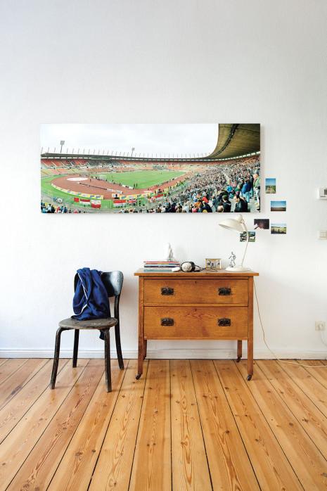 Das Rheinstadion an deiner Wand - 11FREUNDE BILDERWELT