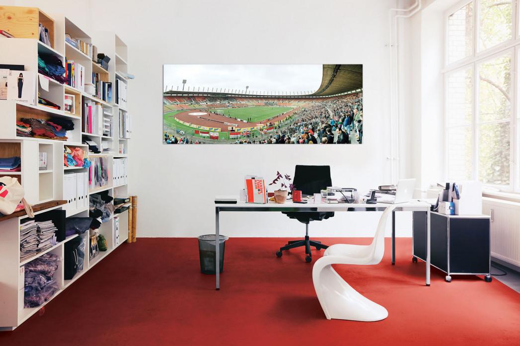 Das Rheinstadion in deinem Büro - 11FREUNDE BILDERWELT