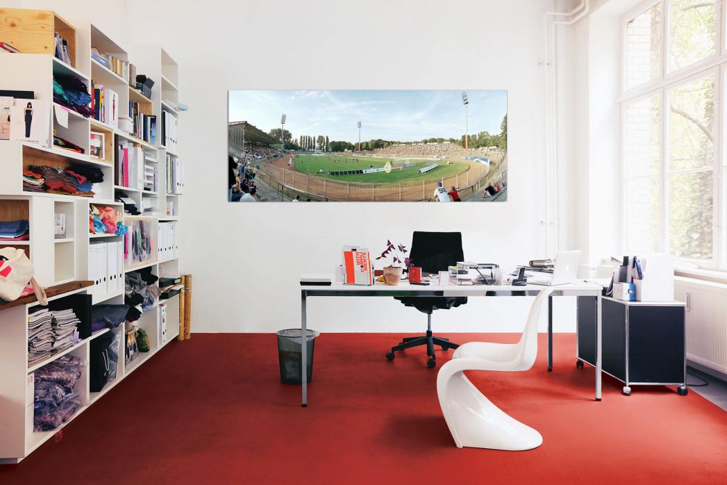Das Stadion am Böllenfalltor in deinem Büro - 11FREUNDE BILDERWELT