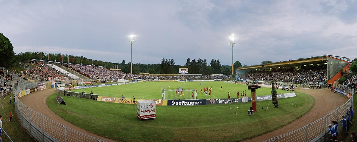 Stadionfoto: SV Darmstadt 98 - Stadion am Böllenfalltor - 11FREUNDE BILDERWELT