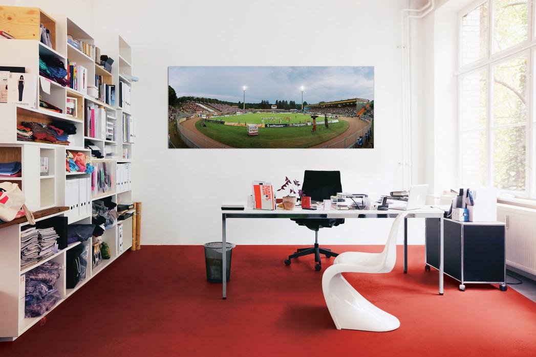 In deinem Büro: Stadionfoto: SV Darmstadt 98 - Stadion am Böllenfalltor - 11FREUNDE BILDERWELT
