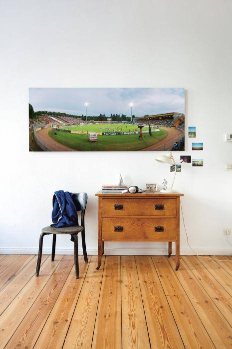 An deiner Wand: Stadionfoto: SV Darmstadt 98 - Stadion am Böllenfalltor - 11FREUNDE BILDERWELT