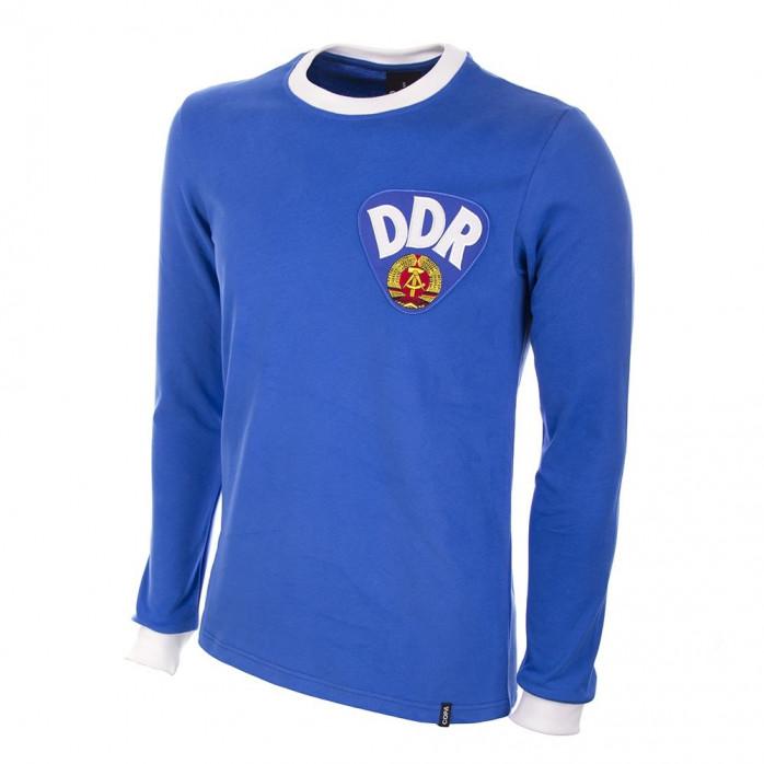 DDR 1970's Long Sleeve Retro Football Shirt