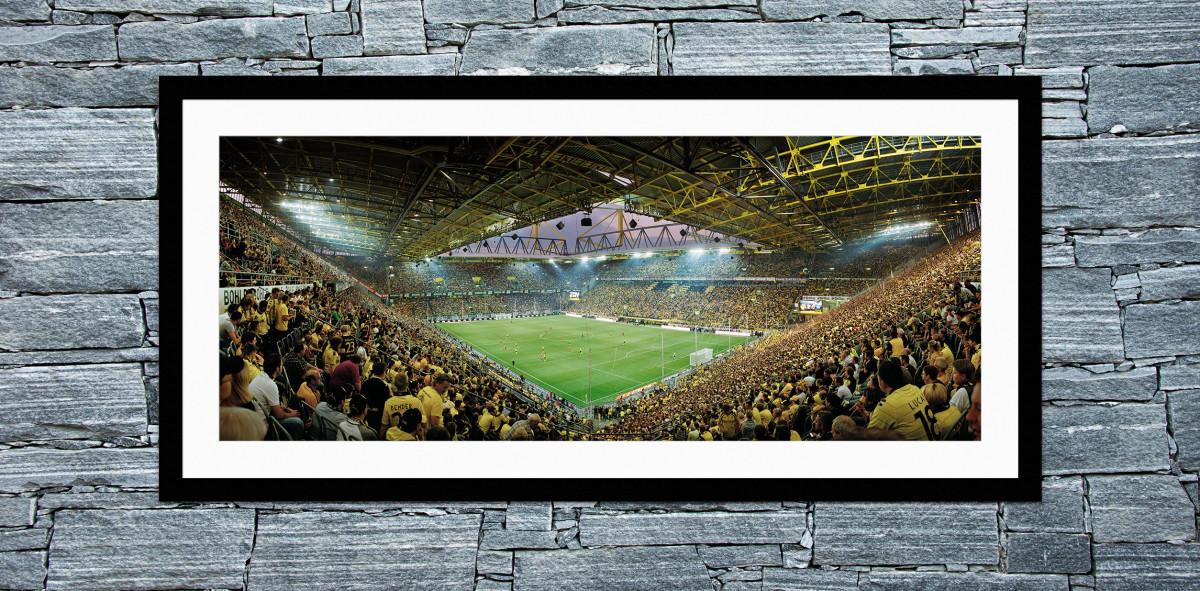 Dortmund Signal Iduna Park 2011 - 11FREUNDE Shop - Fußball Foto Wandbild