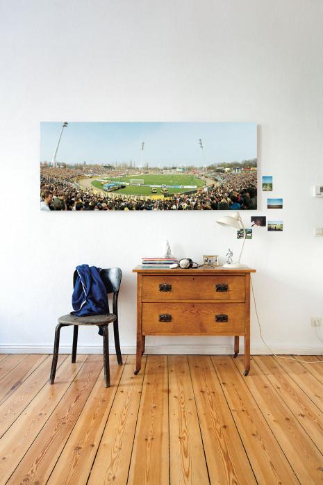 Das Rudolf-Harbig-Stadion in deinen vier Wänden - 11FREUNDE BILDERWELT