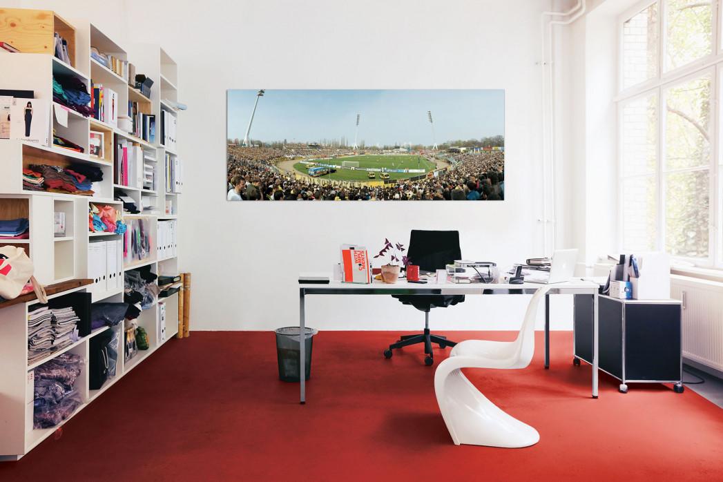 Das Rudolf-Harbig-Stadion in deinem Büro - 11FREUNDE BILDERWELT