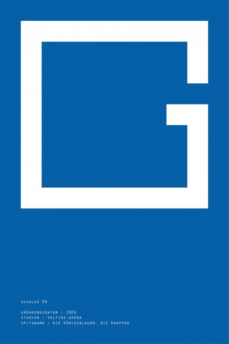 Pixel Lookalike: Gelsenkirchen - Poster bestellen - 11FREUNDE SHOP