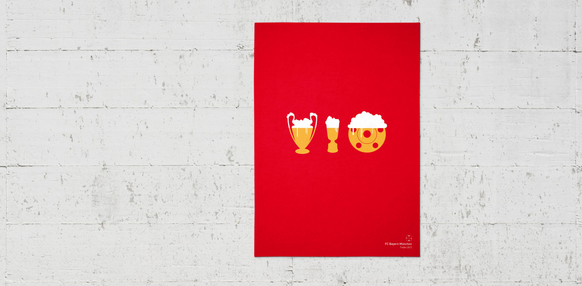 Bayern Triple 2013 - Poster bestellen - 11FREUNDE SHOP