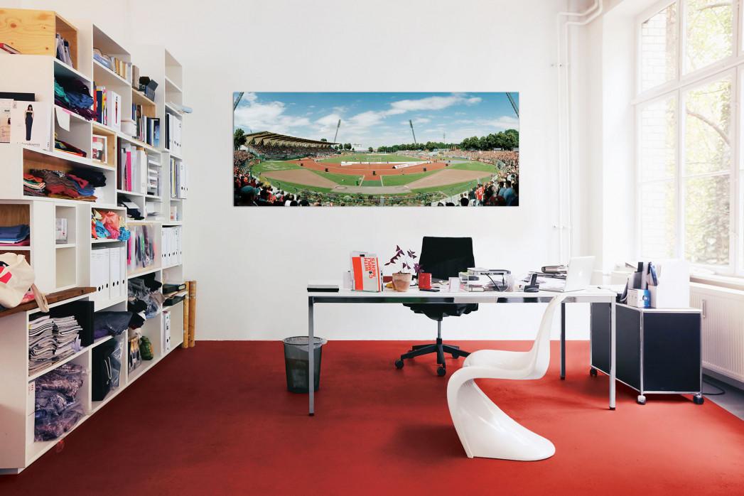 Das Steigerwaldstadion vom FC Rot-Weiß Erfurt in deinem Büro - 11FREUNDE BILDERWELT