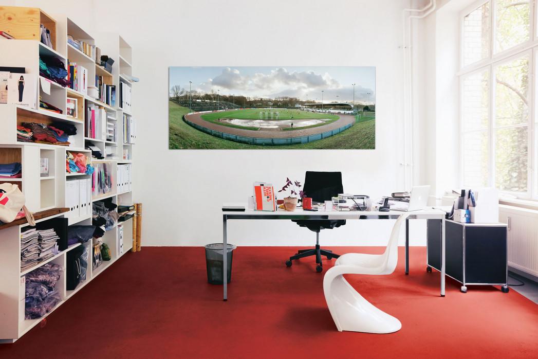 Das Stadion Uhlenkrug in deinem Büro - 11FREUNDE BILDERWELT