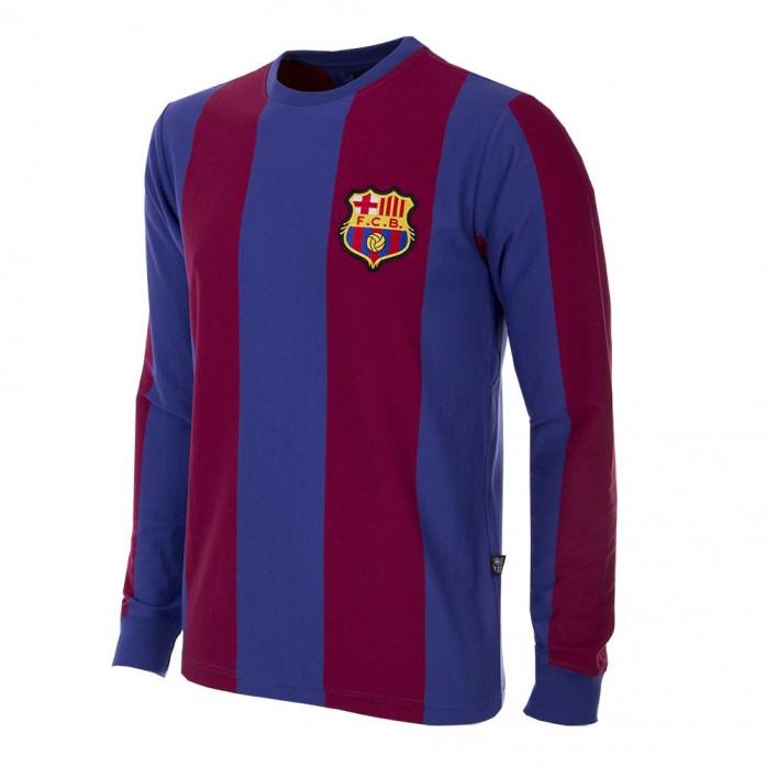 FC Barcelona 1973 - 74 Long Sleeve Retro Football Shirt