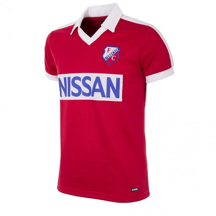 FC Utrecht 1987 - 88 Short Sleeve Retro Football Shirt