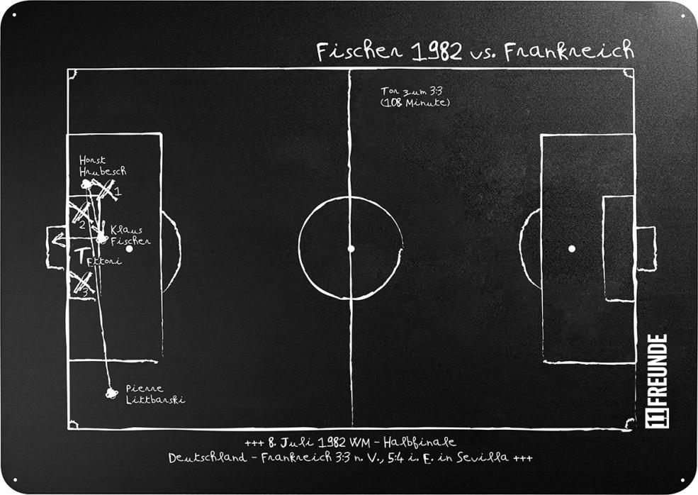 Magnettafel: Fischer 1982 - 11FREUNDE SHOP