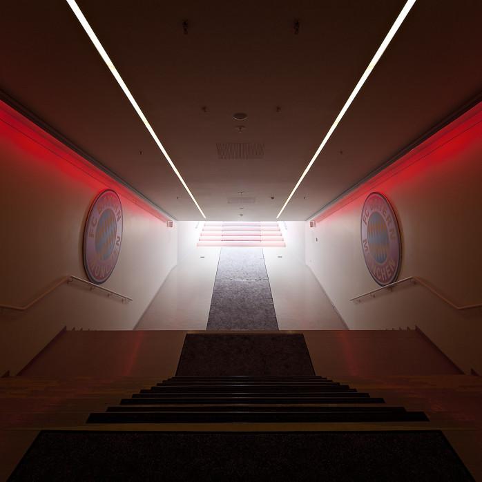 Spielertunnel Allianz Arena - 11FREUNDE BILDERWELT