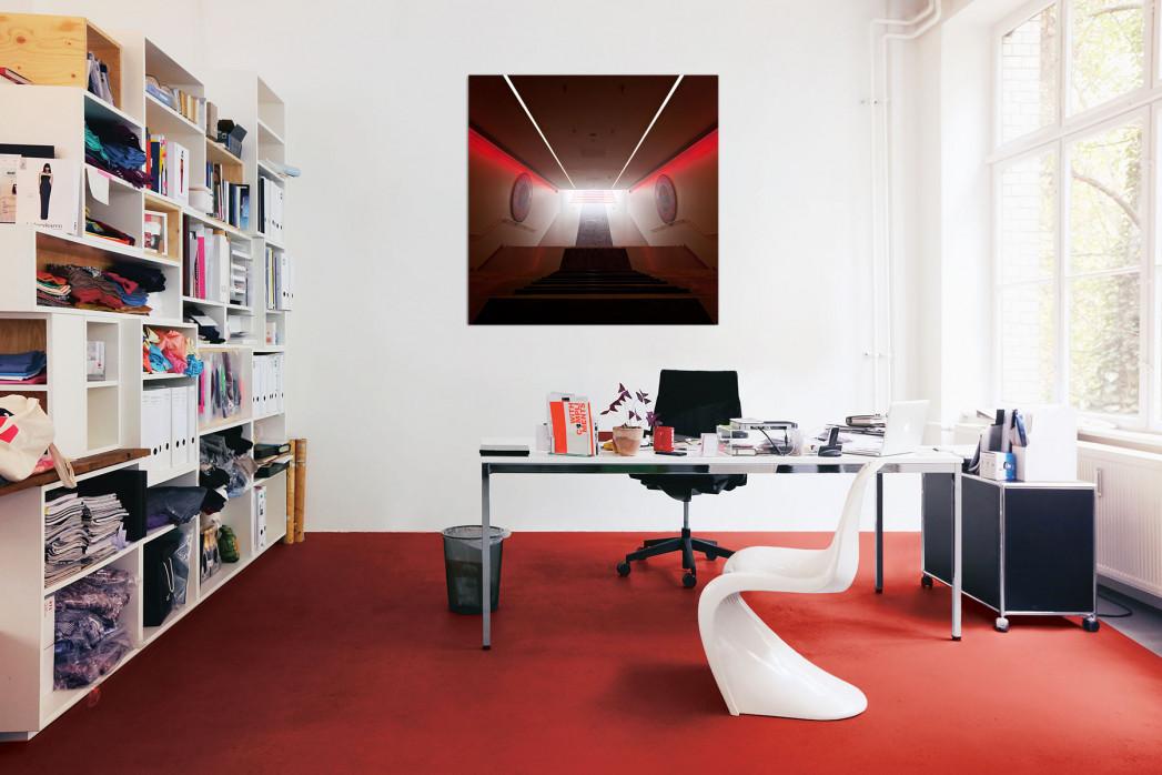 Der Spielertunnel Allianz Arena in deinem Büro - 11FREUNDE BILDERWELT