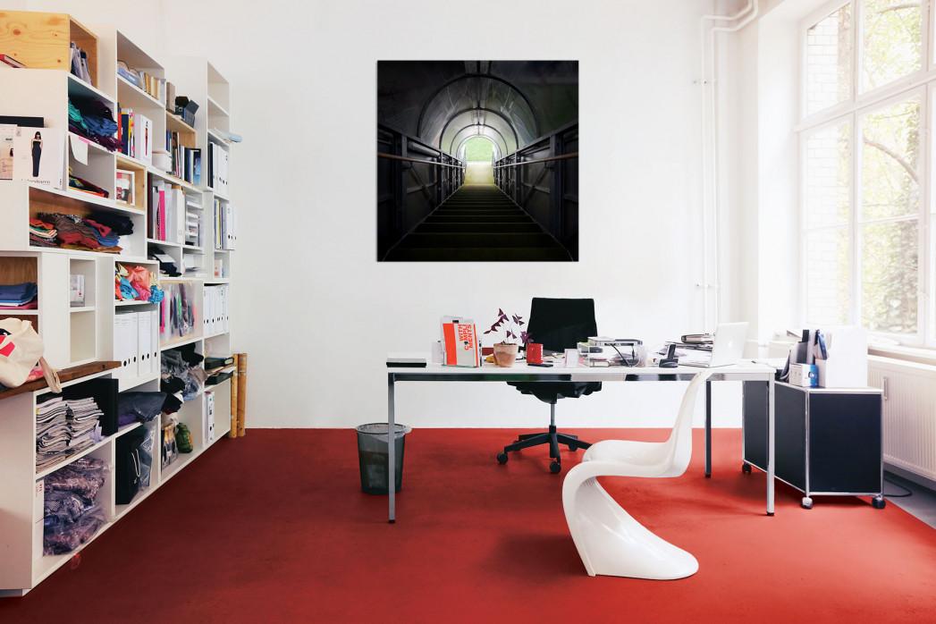Der Spielertunnel der Alten Försterei in deinem Büro - 11FREUNDE BILDERWELT