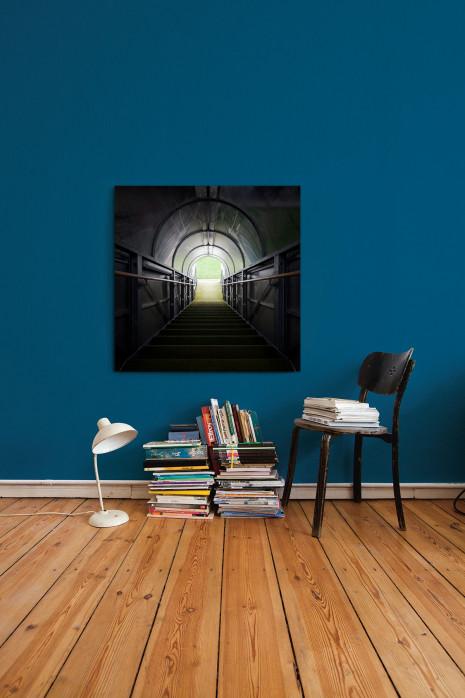 Der Spielertunnel der Alten Försterei an deiner Wand - 11FREUNDE BILDERWELT