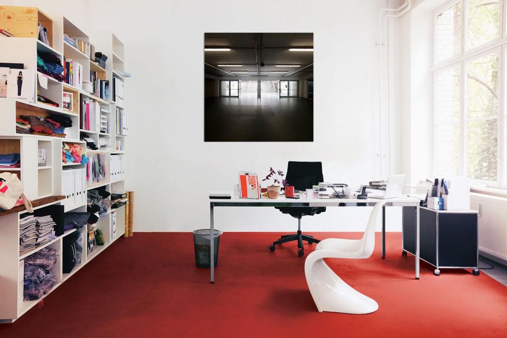 Der Spielertunnel der ESPRIT arena in deinem Büro - 11FREUNDE BILDERWELT