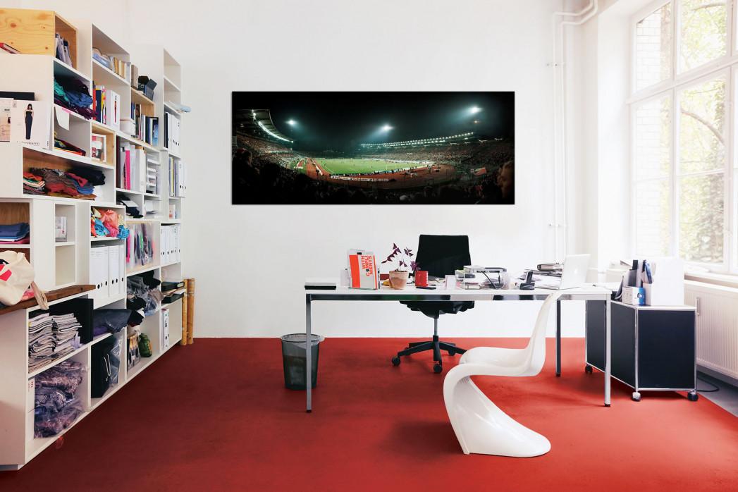 Eintracht Frankfurt Waldstadion in deinem Büro - 11FREUNDE BILDERWELT