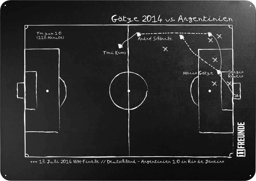 Magnettafel: Götze 2014 - 11FREUNDE SHOP