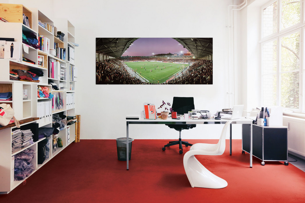 Halle Erdgas Sportpark in deinem Büro - 11FREUNDE BILDERWELT