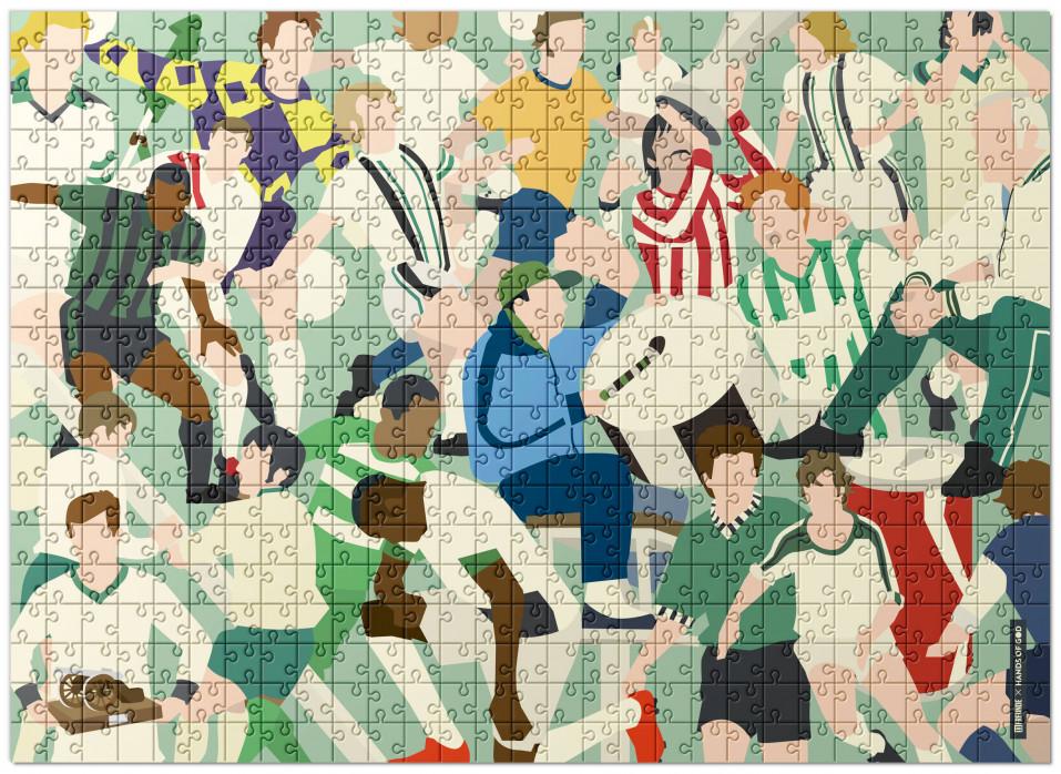 Puzzle: Gladbach Clash - Design: HANDS OF GOD als Puzzle mit 192, 551 und 1.500 Teilen