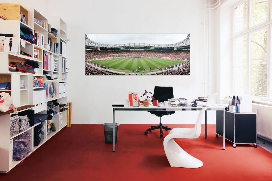 Stadionfoto Hannover 96 in deinem Büro - 11FREUNDE BILDERWELT