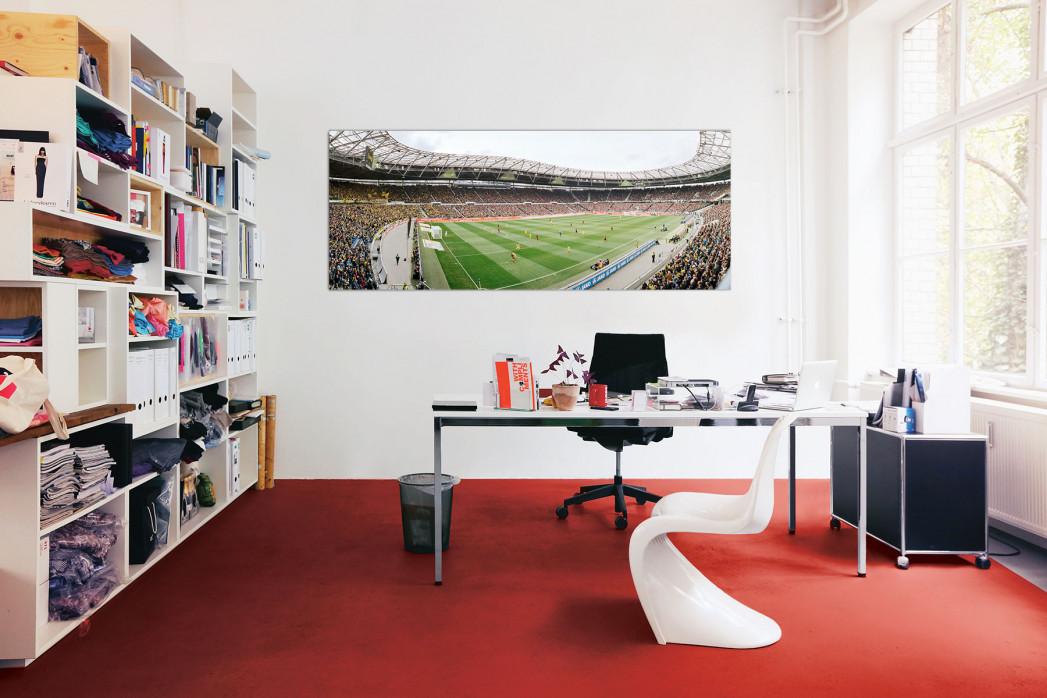 In deinem Büro: Stadionfoto Hannover (2014)