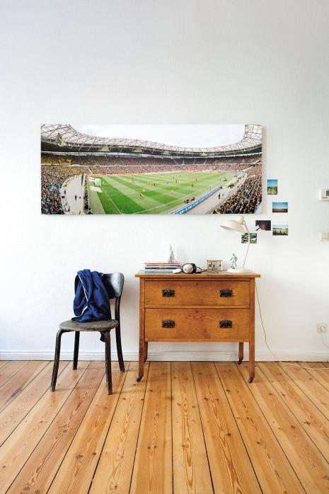 An deiner Wand: Stadionfoto Hannover (2014)