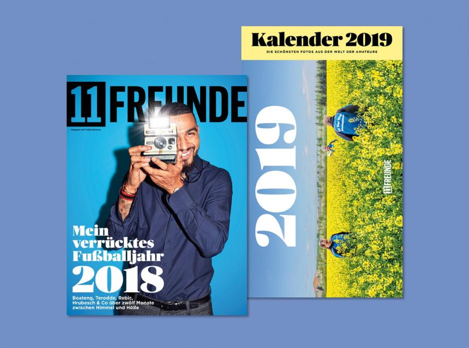 11FREUNDE Ausgabe #206 (inkl. Kalender 2019)