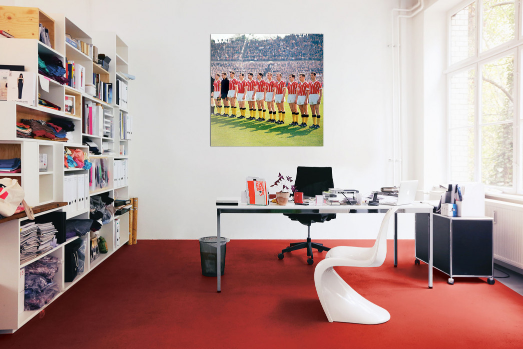 »Alemannia Aachen im Pokalfinale« in deinem Büro - 11FREUNDE BILDERWELT