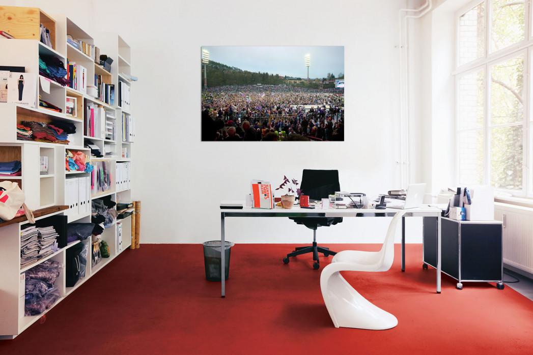 »Aufstiegsfeier Aue« in deinem Büro