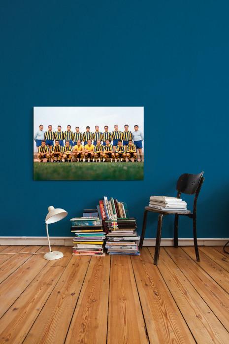 Mannschaftsfoto Eintracht Braunschweig 1963/64 in deinen vier Wänden - 11FREUNDE BILDERWELT
