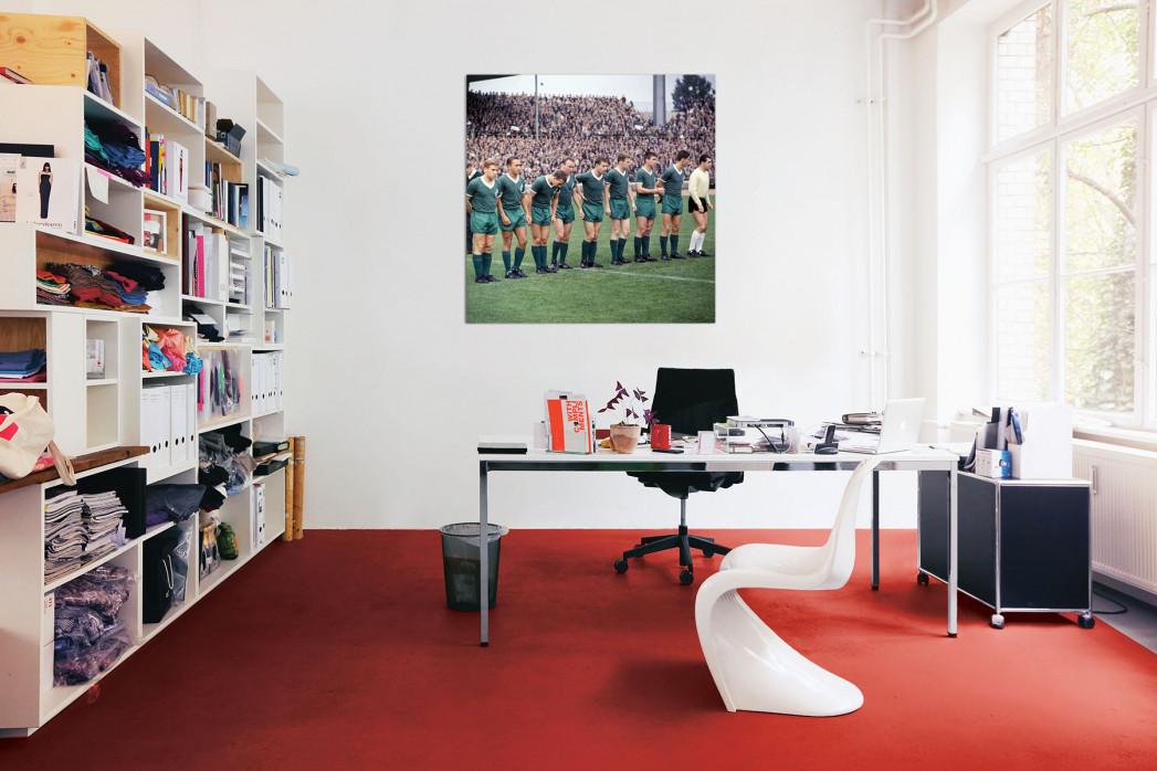 Die Elf von Werder Bremen 1964 in deinem Büro - 11FREUNDE BILDERWELT