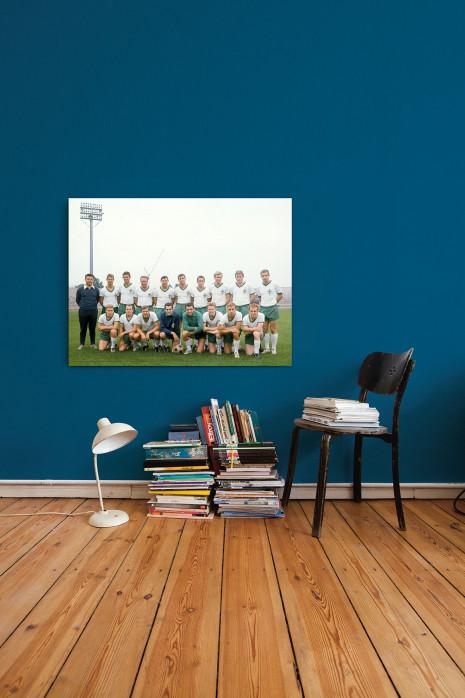 Mannschaftsfoto SV Werder Bremen 1965/66 an deiner Wand - 11FREUNDE BILDERWELT