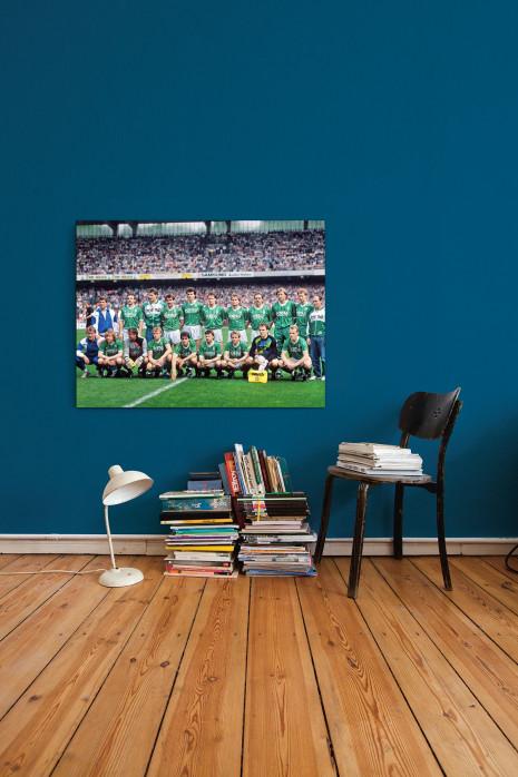 Meistermannschaft SV Werder Bremen 1988 an deiner Wand - 11FREUNDE BILDERWELT