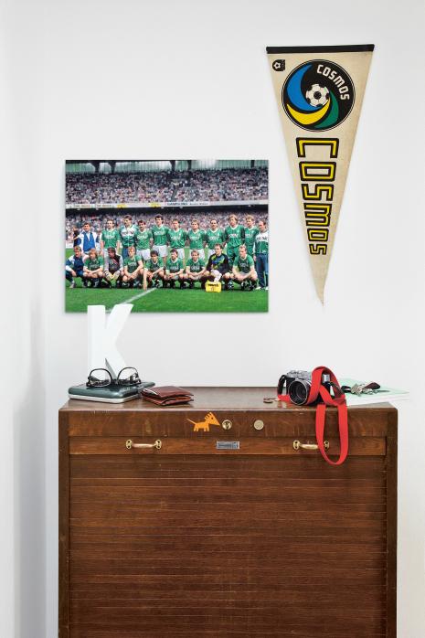 Meistermannschaft SV Werder Bremen 1988 über deiner Kommode - 11FREUNDE BILDERWELT