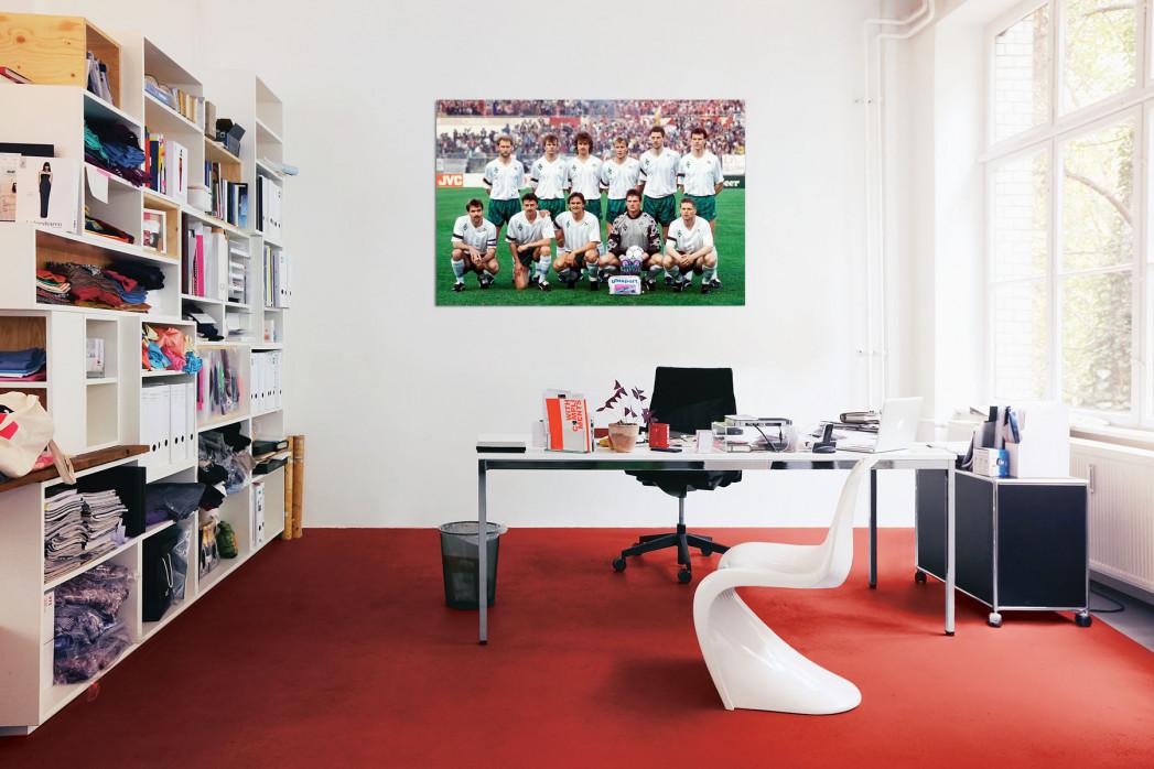 »Bremen im Europapokalfinale« in deinem Büro