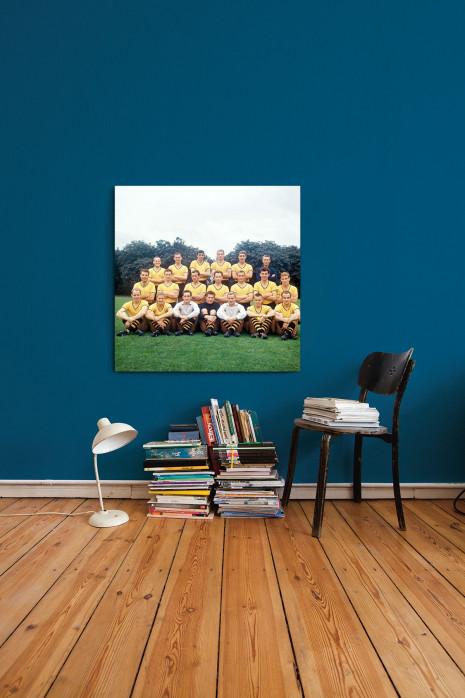Mannschaftsfoto Borussia Dortmund 1964/65 an deiner Wand - 11FREUNDE BILDERWELT