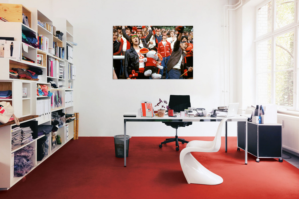 »Nürnberg Fans 1978« in deinem Büro - 11FREUNDE BILDERWELT