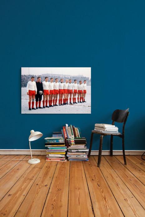 Mannschaftsfoto Rot-Weiss Essen 1963/64 in deinem Zuhause - 11FREUNDE BILDERWELT