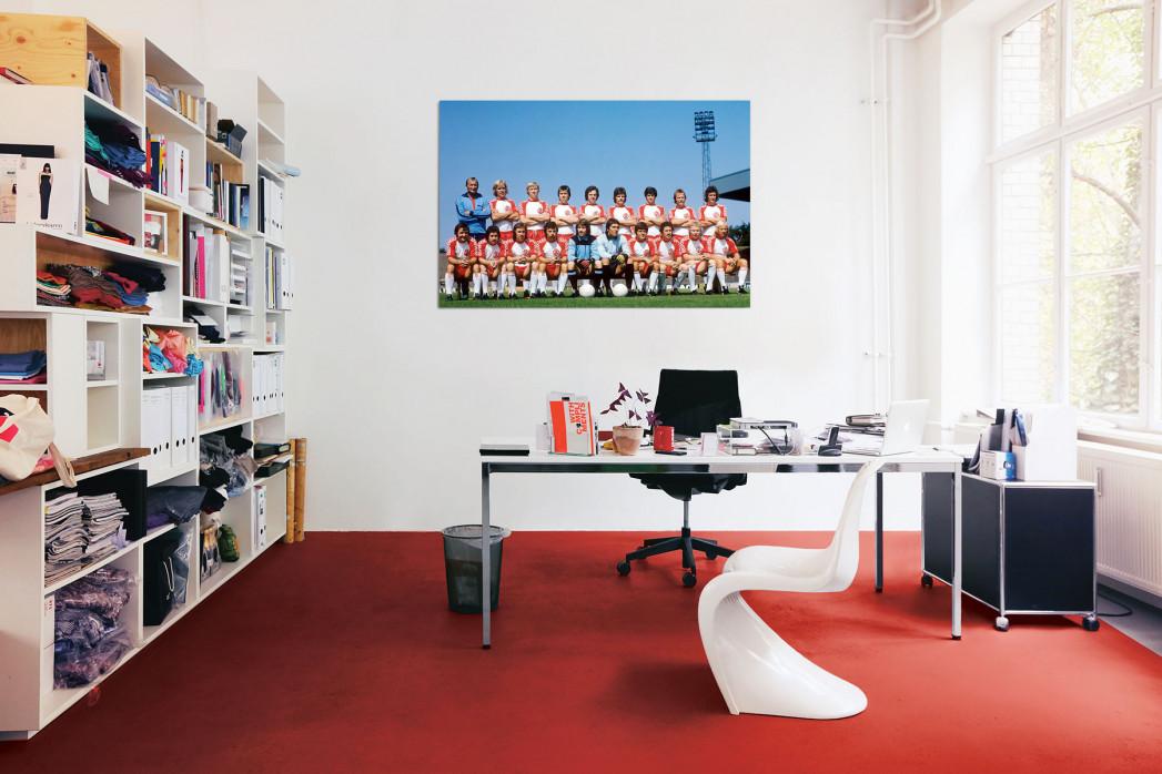 Mannschaftsfoto Rot-Weiss Essen 1975/76 in deinem Büro - 11FREUNDE BILDERWELT