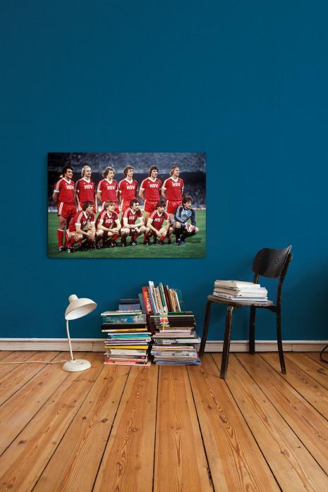 Die Elf vom Hamburger SV 1983 in deinem Zuhause - 11FREUNDE BILDERWELT