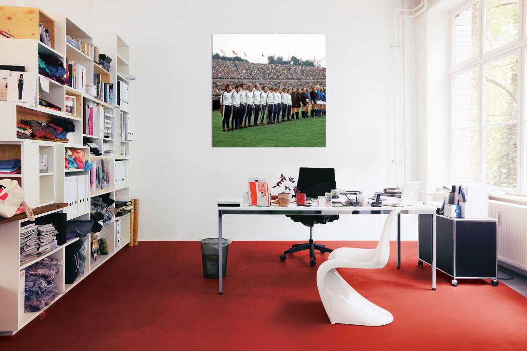 »Kaiserslautern im Pokalfinale 1972« in deinem Büro - 11FREUNDE BILDERWELT