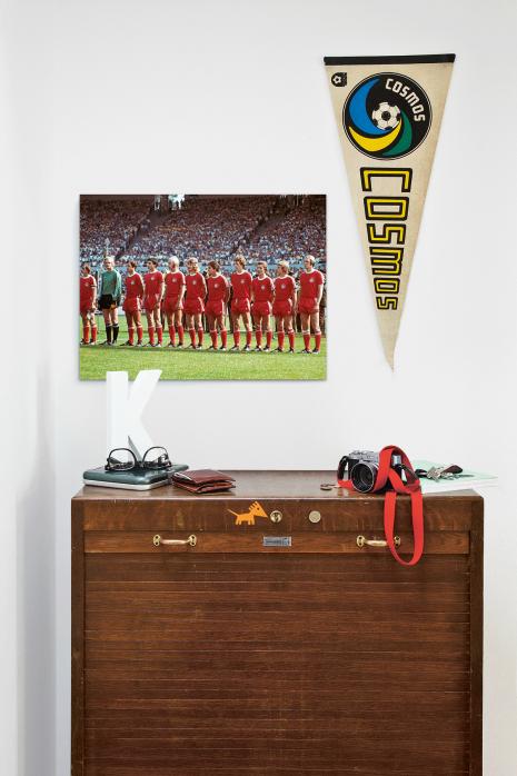 Über deiner Kommode: Kaiserslautern im Pokalfinale 1976 - 11FREUNDE BILDERWELT